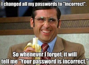 Password User Error